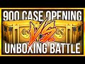 CS:GO 900 CASE OPENING BATTLE