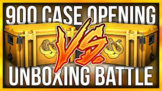 CS:GO 900 CASE OPENING BATTLE