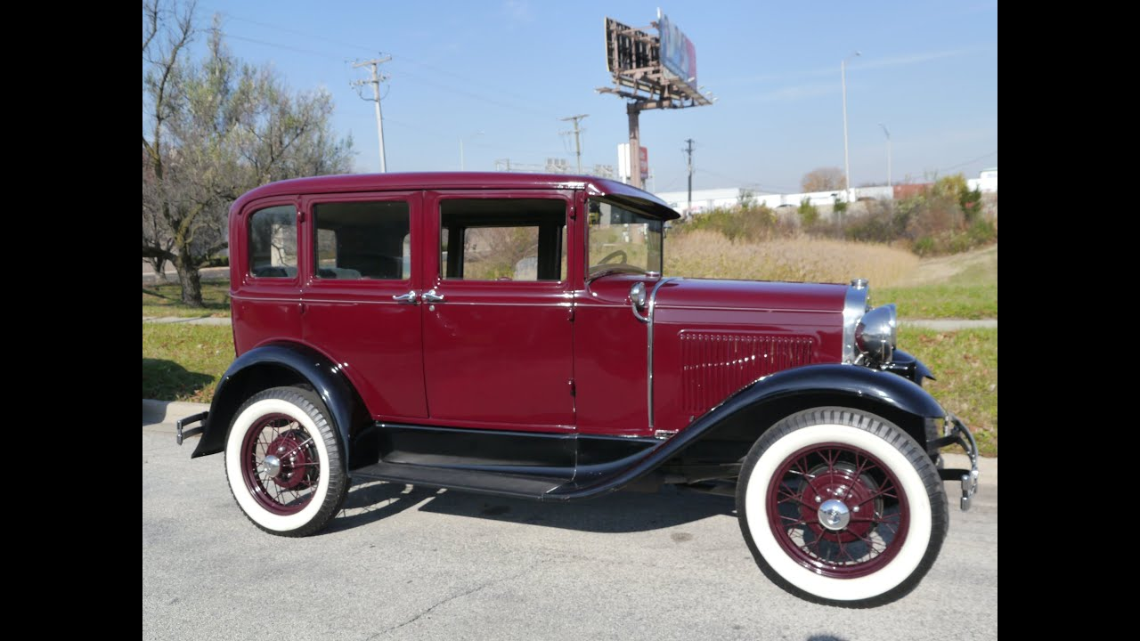 & 1930 Ford Model A Deluxe Fordor Town Sedan ***FOR SALE*** - YouTube markmcfarlin.com