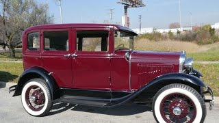 1930 Ford Model A Deluxe Fordor Town Sedan ***FOR SALE***