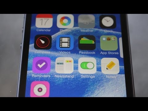 How to Add a Theme / Change Icons on your iPhone / iPad in iOS 7