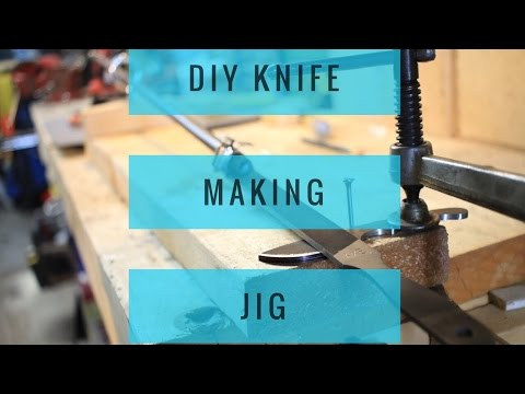Basic Knife Making Tools - Part 1of 3 of a YouTube knife