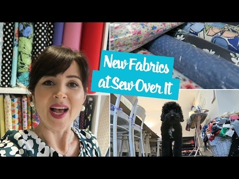 New Fabrics at Sew Over It