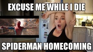 LIVE REACTION: Spiderman Homecoming