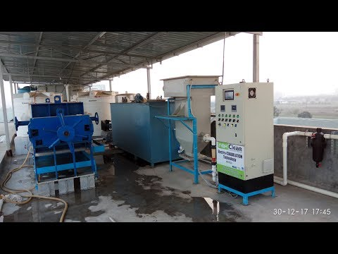 Electrocoagulation For Waste Water Treatment System