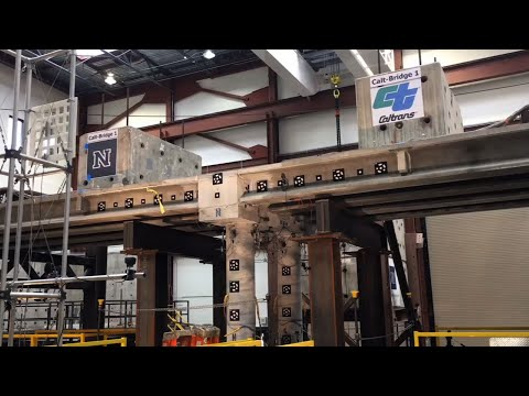 Nevada Quake Lab Tests New Bridge Design