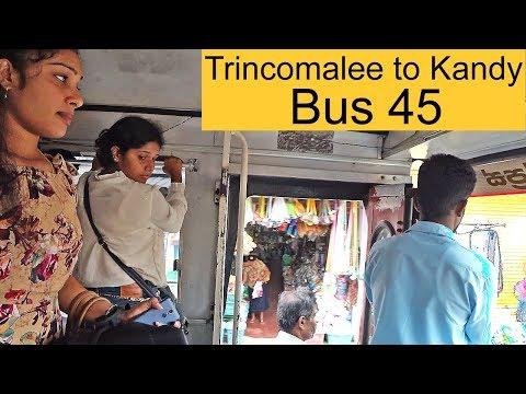 A bus 45 from Trincomalee to Kandy, Sri Lanka #Dambulla