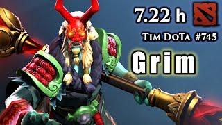 Dota 2 GrimStroke | 7.22h | Tim Dota | #745