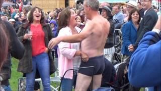 The Full Monty at Tom Jones Concert (Cartmel Racecourse 30/06/17)