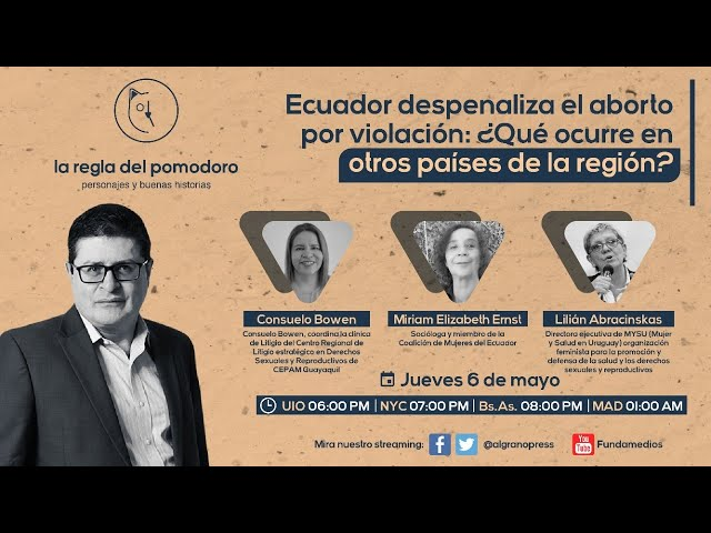 Ecuador despenaliza el aborto por violación: ¿Qué ocurre en otros países de la región?