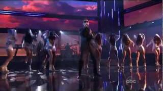 Marc Anthony ft Pitbull - Rain over me live at AMA 2011 HD - American Music Awards Best Performance