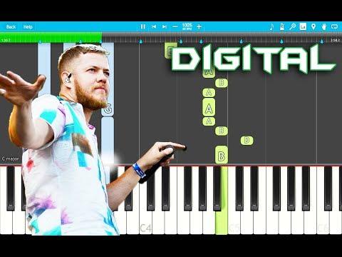 Imagine Dragons - Digital Piano Tutorial EASY (Origins) Piano Cover