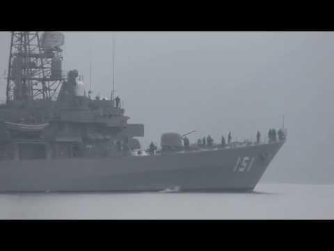 M150120A 海上自衛隊舞鶴基地 護衛艦『あさぎり』 出港
