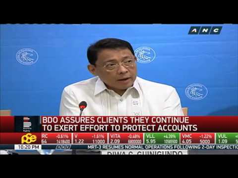 BDO encourages ATM-skimming victims to file complaints