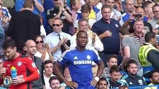 Chelsea vs Leicester Didier Drogba
