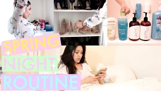 Get Unready With Me: Spring Night Routine 2015