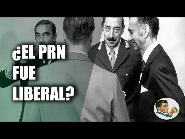 Martinez de Hoz, PRN y el liberalismo