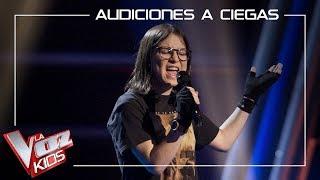 Sofía Esteban canta 'Miss celie's blues' | Audiciones a ciegas | La Voz Kids Antena 3 2019