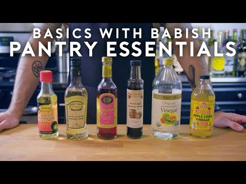 Pantry Essentials | Basics with Babish