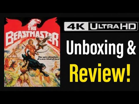 Download The Beastmaster (1982) 4K UHD Blu-ray Review!