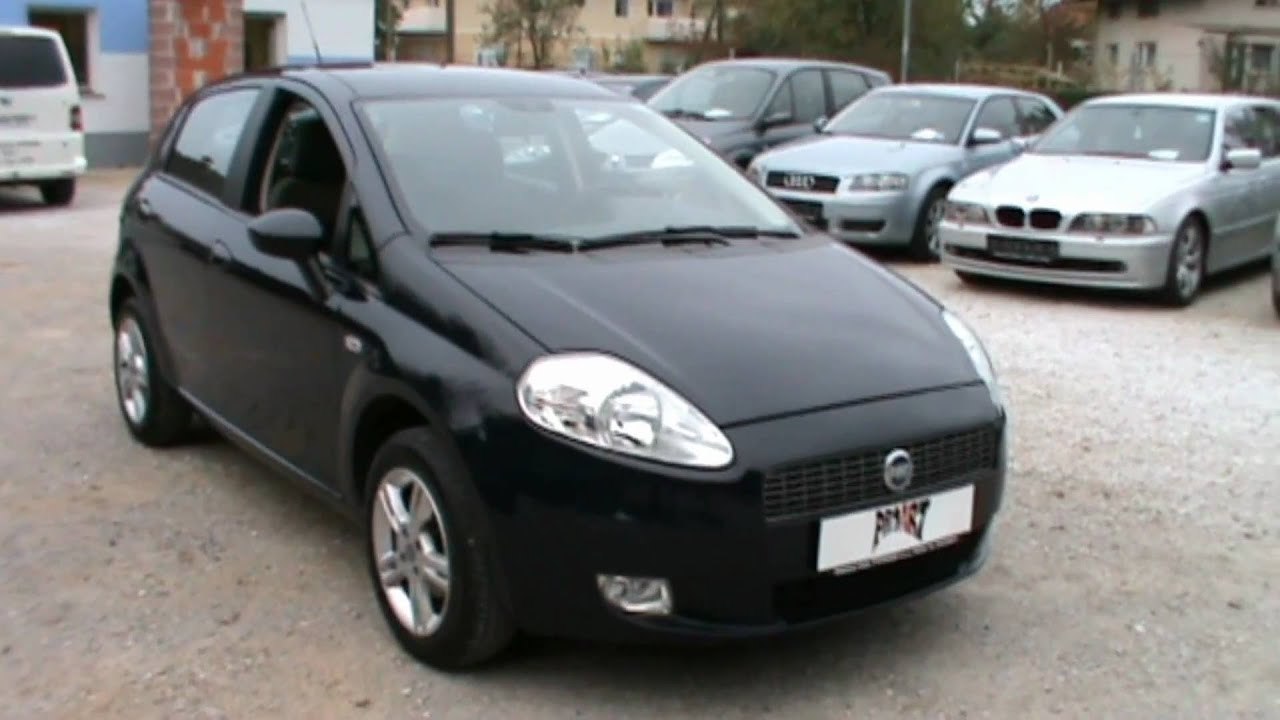2008 fiat grande punto actual full review start up. Black Bedroom Furniture Sets. Home Design Ideas