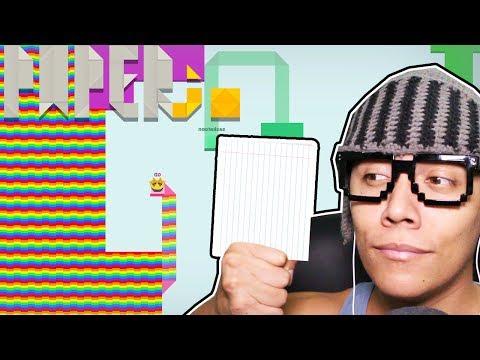 DOMINE O MUNDO COM PAPEL - Paper.io