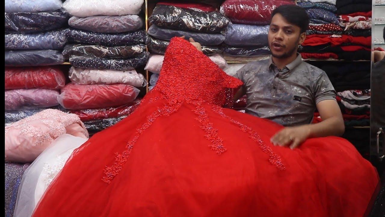 অবিশ্বাস্য কম দামে চায়না লেডিস বার্বি গাউন/Chaina Ladies Barbie Gown Price #KeyaChowdhury