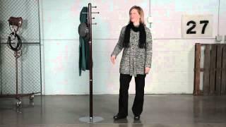 Wood Coat Stand