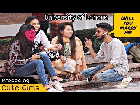Bluetooth Prank Proposing Cute Girls - Singing Mix  UOL  Prank In Pakistan