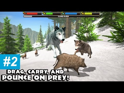 ULTIMATE WOLF SIMULATOR - Part 2 - HIGH LEVEL - walkthrough - iPhone, iPad, and iPod touch.