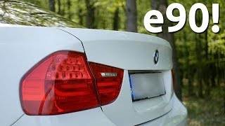 BMW 3 Series e90 Facelift Review - 316D Manual