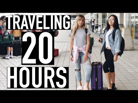 TRAVELING 20 HOURS TO THE PHILIPPINES!
