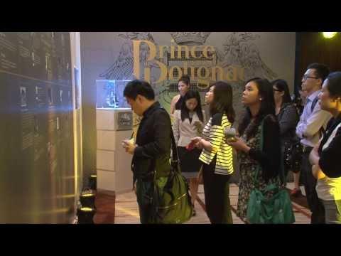 Prince Hubert de Polignac cognacs press cocktail and dinner. Grand Hyat Shenzhen 1st november 2013