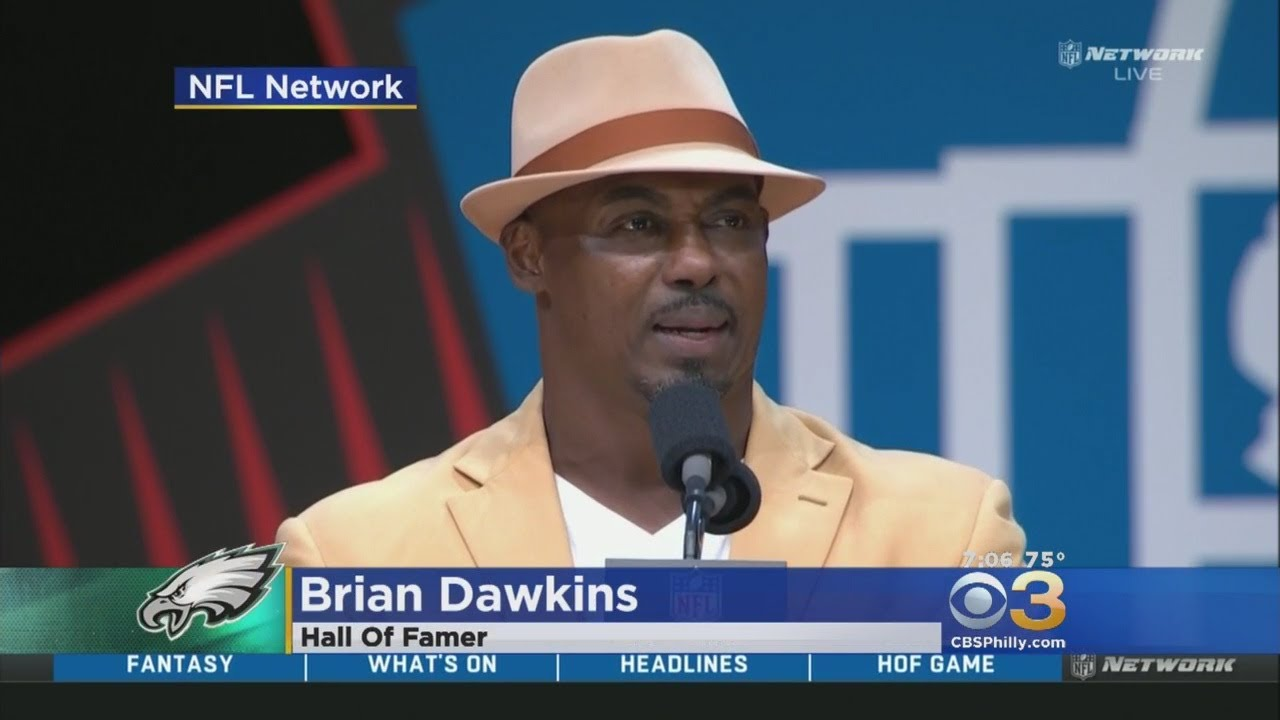 Watch Brian Dawkins' impassioned Hall of Fame speech