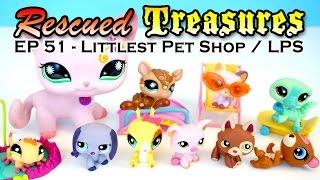 Rescued Treasures ♥︎ EP51 - Littlest Pet Shop / LPS - Many Older Version LPS Pets!