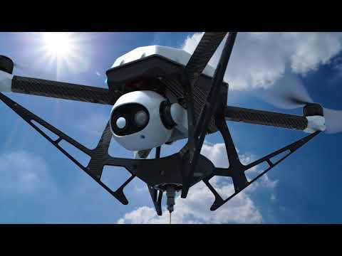 Hoverfly - Tethered Drone Technology For Infinite Flight Time