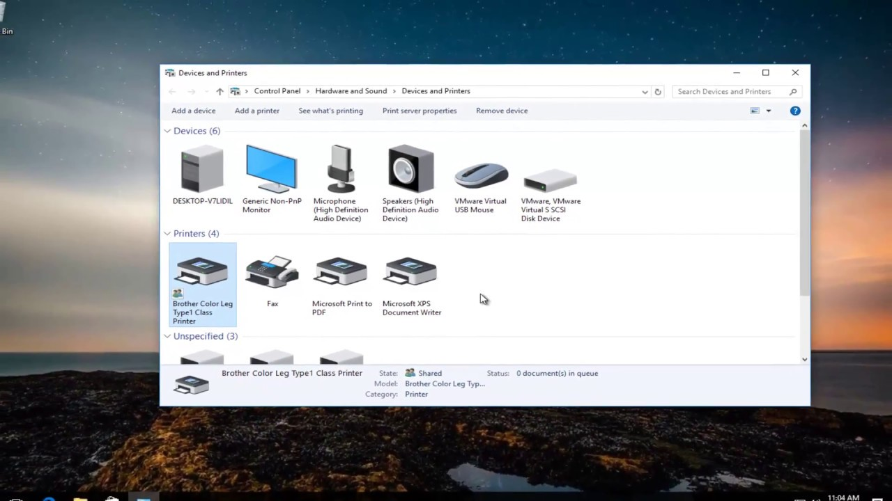 Color printing in windows 10 - How To Share A Printer On Network Windows 10 8 7