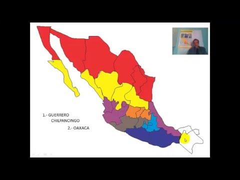 División Política De México Youtube