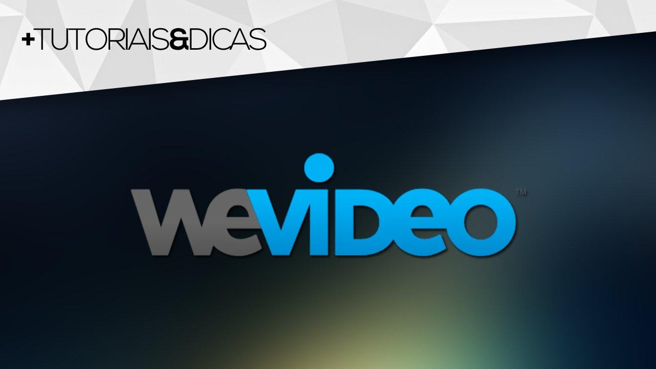 WeVideo: Editor de vídeo GRÁTIS e ONLINE (edite de ...