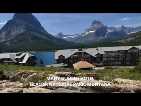 Many Glacier Hotel HD