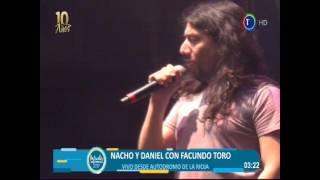 CHAYA 2017 - NACHO Y DANIEL CON FACUNDO TORO