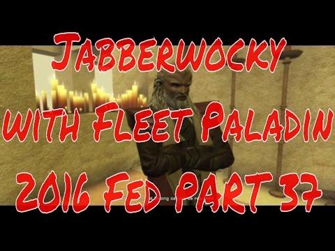 Jabberwocky with Fleet Paladin - Cardassian Struggle - 2016 Fed Tutorial PART 37 - Star Trek Online
