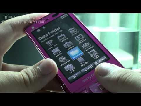 Sony Ericsson S003 testing