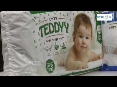 Teddy Baby Diapers Launched in Hyderabad - hybiz