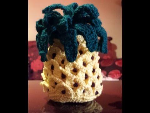 Amigurumi Tutorial Uncinetto : Ananas Amigurumi - Tutorial uncinetto - crochet pina ...