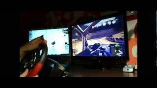 WRC 2 FIA World Rally Championship 2011 Gameplay with streering wheel