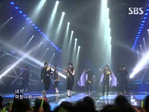 2PM - Again & Again Remix ver @ SBS Inkigayo 인기가요 090531