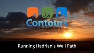 Running Hadrian's Wall Path with Contours Trail Running Holidays