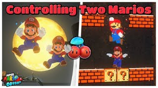 What Happens If You Control Two Marios At The Same Time? - Super Mario Odyssey