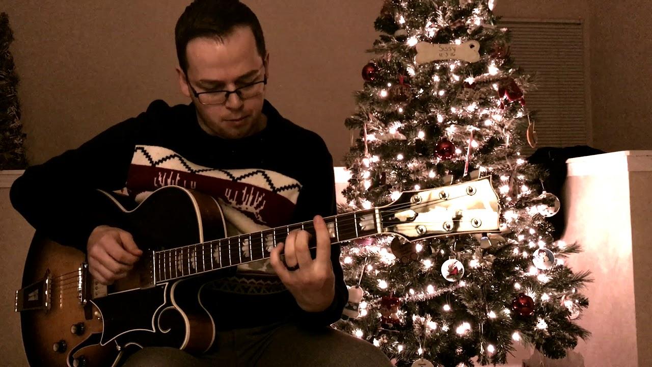 Christmas Solo.White Christmas Solo Jazz Guitar